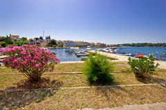 Adriatic town of Petrcane waterfront Stock Image