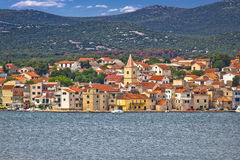 Adriatic town of Pirovac waterfront Stock Photography