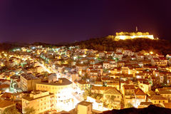 Adriatic town of Sibenik night view Stock Photography
