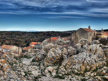 Adriatic village Stock Photography