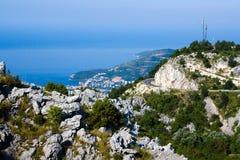 adriatic wybrzeże Fotografia Royalty Free