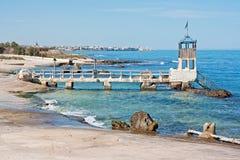 adriatic wybrzeża krajobraz Obraz Stock