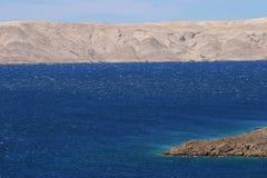 Adriatisch zeegezicht Royalty-vrije Stock Afbeeldingen