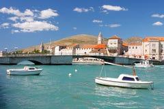 Adriatische alte Stadt Stockfotografie
