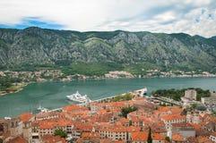 Adriatische alte Stadt Stockfoto