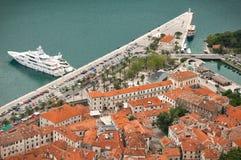 Adriatische alte Stadt Stockbild