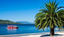Adriatische Erholung am Sommer Lizenzfreie Stockfotografie