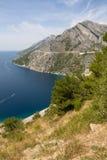 Adriatische Gezeitenzone in Kroatien Lizenzfreies Stockfoto