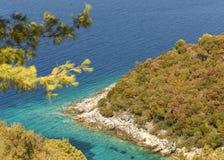 Adriatische Insel, Lastovo, Kroatien Stockfotos