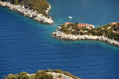 Adriatische Insel von Lastovo, Kroatien Stockbild