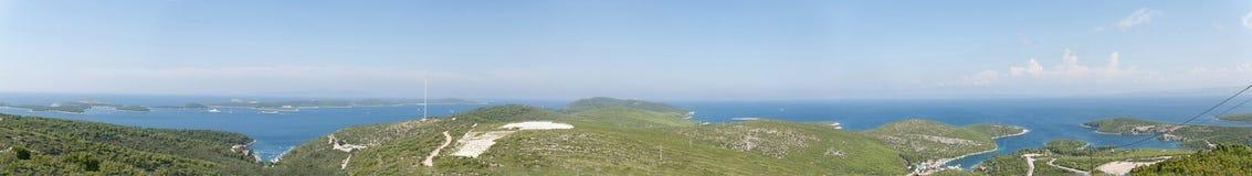 Adriatische Inseln Stockfotografie