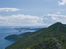 Adriatische Inseln Lizenzfreie Stockfotos