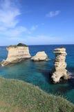 Adriatische Inseln und Küstenlinie, Italien Stockbilder