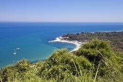 Adriatische Küste Stockfotografie