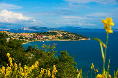 Adriatische Küste Lizenzfreie Stockfotografie