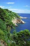 Adriatische Küste Lizenzfreies Stockbild