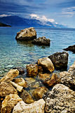 Adriatische Küste Stockbilder