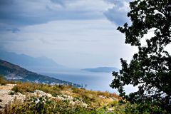 Adriatische Küste Lizenzfreie Stockfotos