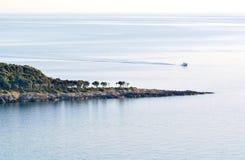 Adriatische Küste, Lizenzfreies Stockbild