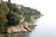 Adriatische Küste Lizenzfreie Stockbilder