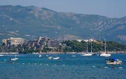 Adriatische Küste, Ansicht der Dukley-Gärten Lizenzfreies Stockfoto