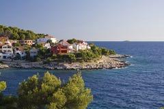 Adriatische Küste in Dalmatien Lizenzfreie Stockfotografie