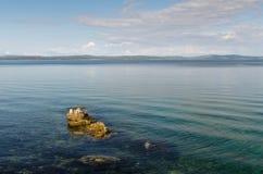 Adriatische Küste. Felsen Stockfoto