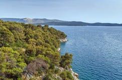 Adriatische Küste, Kroatien Lizenzfreie Stockfotografie