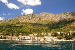 Adriatische Küste in Kroatien Lizenzfreies Stockfoto