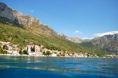 Adriatische Küste in Kroatien Lizenzfreie Stockfotografie