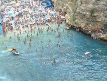Adriatische Küste Polignano eine Stute Lizenzfreie Stockfotografie