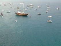 Adriatische Küste Polignano eine Stute Lizenzfreies Stockfoto