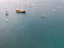 Adriatische Küste Polignano eine Stute Lizenzfreie Stockfotos