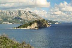 Adriatische Küste von Montenegro Stockfoto
