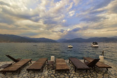 Adriatische Küste von Montenegro Lizenzfreie Stockfotografie