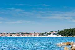 Adriatische Küste von Rovinj, Kroatien Lizenzfreies Stockfoto