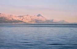 Adriatische Küstenlinie Lizenzfreie Stockfotos
