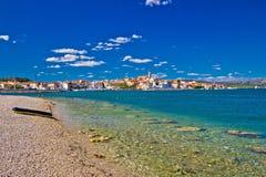 Adriatische Küstenstadt von Betina Stockbilder
