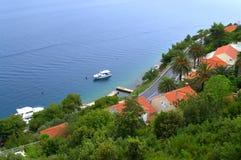 Adriatische Küstenstraße, Kroatien Lizenzfreies Stockbild