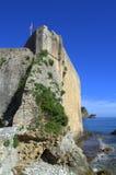 Adriatische Küstenzitadelle, Budva, Montenegro Stockbild