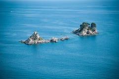 Adriatische kleine Inseln Stockfotografie