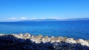 Adriatische kust Royalty-vrije Stock Foto's