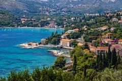 Adriatische Lagune Stockfotografie