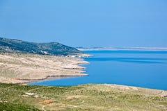 Adriatische Landschaft Stockfoto