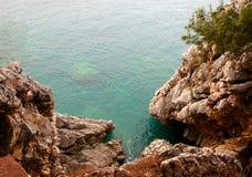 Adriatische Landschaft. Stockfotografie