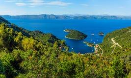 Adriatische Landschaft Lizenzfreie Stockfotografie