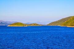 Adriatische Landschaft Stockbilder