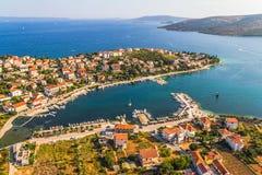 Adriatische Landschaft Stockbild
