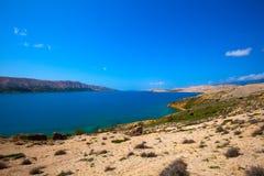 Adriatische Landschaft Lizenzfreies Stockfoto