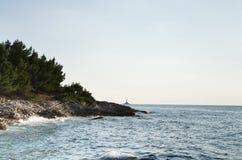 Adriatische Landschaft Stockfotografie